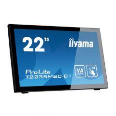 """iiyama T2235MSC-B1 22"""" ProLite HD Multi Touch VA LED Monitor"""