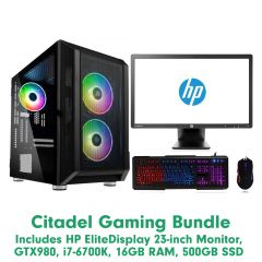 Stone Citadel Gaming PC Bundle - Windows 10 Pre-installed