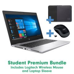 Student Laptop Premium Bundle - With Free Sleeve and Wireless Mouse