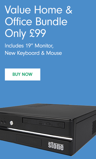 £99 Value Bundle Deal 19-inch Monitor, New Keyboard & Mouse