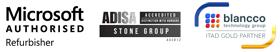 Microsoft Authorised Refurbisher - ADISA Accredited - Blancco ITAD Gold Parrtner